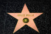 Bruce Willis Star on the Hollywood Walk of Fame — Foto de Stock