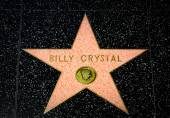 Billy Crystal Star on the Hollywood Walk of Fame — Stock Photo