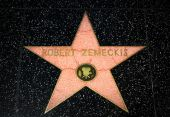 Robert Zemeckis Star on the Hollywood Walk of Fame — Stock Photo