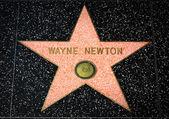 Wayne Newton Star on the Hollywood Walk of Fame — Stock Photo