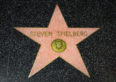 Steven Spielberg Star on the Hollywood Walk of Fame — Stock Photo