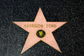 Harrison Ford Star on the Hollywood Walk of Fame — Stock Photo