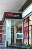 CNN Building Exterior — Stock Photo