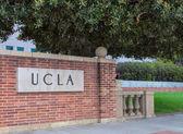 Sinal de entrada do Campus da Ucla — Fotografia Stock