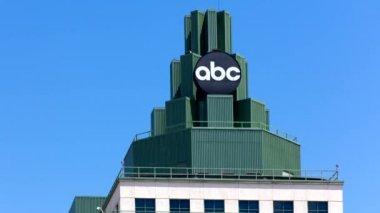 Abc-Fernsehzentrum in Los Angeles — Stockvideo