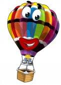 Colored balloon — Stock Photo