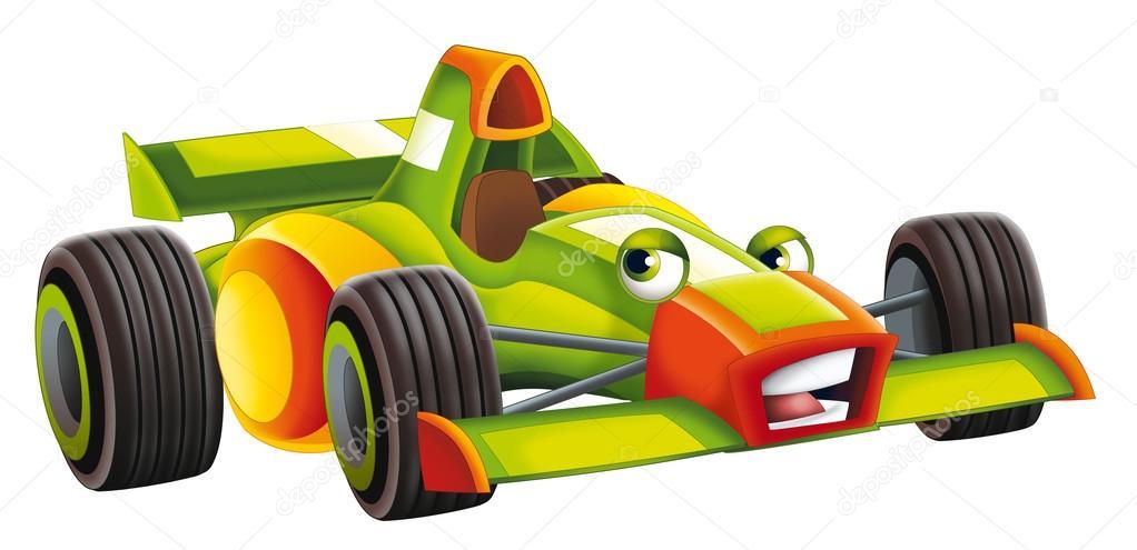 Voiture de dessin anim v hicule de course piste photo - Dessin anime voiture de course ...