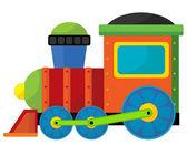 Cartoon train — Stock Photo