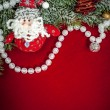 Christmas background with decorations and toys — Stock Photo #54379905