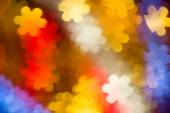 Photo of multicolor flowers boke as background — ストック写真