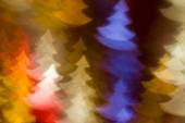 Fir trees shape photo as background — Stockfoto