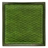 Dark green wicker frame isolated — Stock Photo