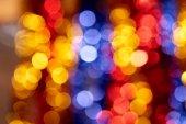 Colorful holiday boke photo background — Stock Photo