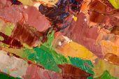 油絵抽象筆 — ストック写真