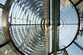 Huge Fresnel lens in a lighthouse — Stok fotoğraf