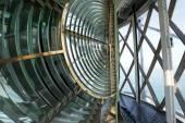 Huge Fresnel lens in a lighthouse — Stock Photo
