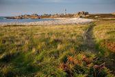 Ushant island coastline landscape — Foto de Stock