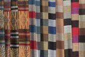 Vietnamese ethnic scarfs — Zdjęcie stockowe