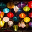 Silk Chinese lamps — Stock Photo #69015359