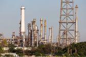 Petrol refinery — Stok fotoğraf