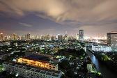 Bangkok cityscape at twilight sky — Stock Photo