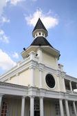 Dome building landmark at Thammasat alumni society in Bangkok — Stock Photo