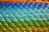body of colorful dragon skin — Stock Photo