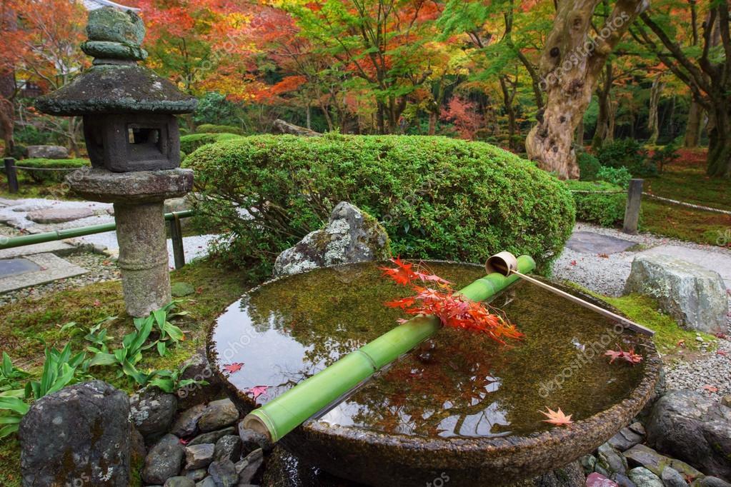 Acqua dipper il bacino di pietra al tempiale di enkoji for Acero rosso canadese prezzo