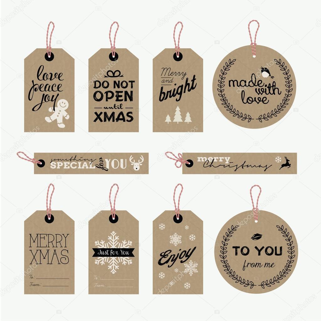 satz von weihnachten und neujahr geschenkanh228nger