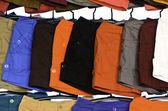 Colorful short pants — Stock Photo