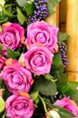Decorative flowers for wedding — Stock Photo