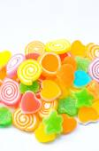 Colorful and sweet jelly candy — Stockfoto