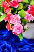Artificial rose flower — Stock Photo