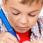 Boy doing homework — Stock Photo #53737369