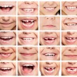 Set of smiles — Stock Photo #54729727