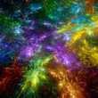 Multicolored fractal background — Stock Photo #52492195