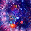 Multicolor blue red abstract background — Stock Photo #52784009