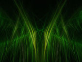 Green abstract christmas trees background — Stock Photo