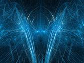 Brain of quantum computer — Stock Photo