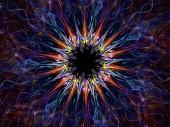 Virus fractal — Stock Photo