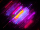 Colorful lines in motion — Stock Photo
