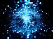 Big bang technology — Stock Photo