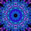Oriental kaleidoscope fractal — Stock Photo #62414387