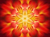 Fiery chakra flame — Stock Photo