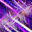 Purple and white chaos with particles — Stock Photo #67234455
