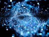 Big bang of future technologies — Stock Photo