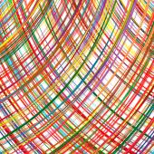 Abstract rainbow curved stripes color line background — Cтоковый вектор