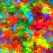 Abstract rainbow color geometric pattern square background — Photo