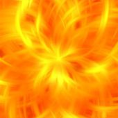 Abstract orange color fire rays background — Стоковое фото