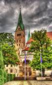 The Cathedral of Augsburg - Germany, Bavaria — Stock Photo